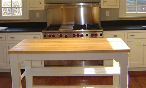 kitchen island countertops maple wood kitchen island countertop by grothouse