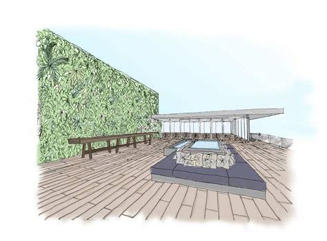 Interior Home Designer Juvia Restaurant Miami Vertical Garden Patrick Blanc