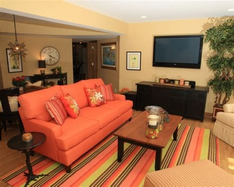 coral couch coral sofa color pinterest