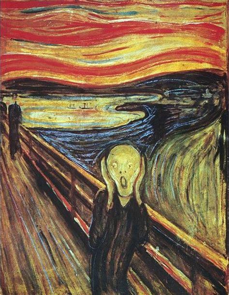 el grito de munch the scream 1893 edvard munch https www facebook