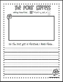 Present Writing Paper Polar Express Writing Paper Search Results Calendar 2015