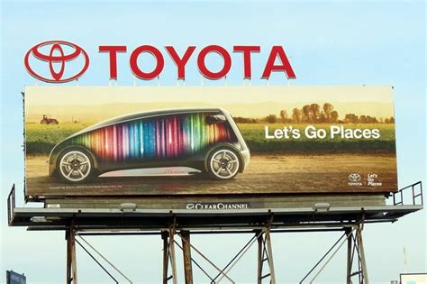 Toyota Lets Go Places Toyota Billboard Quot Let S Go Places Quot Billboarde