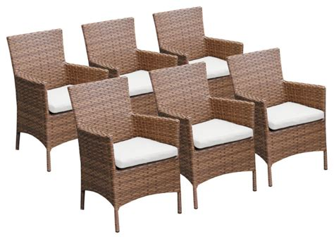 laguna dining chairs  arms tropical outdoor