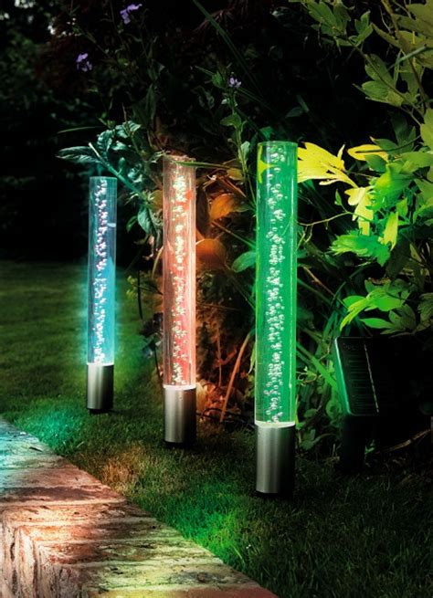 gardman solar jumbo crystal bubble lights