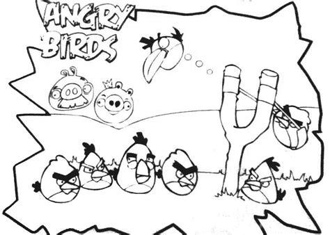 dibujos para colorear angry birds dibujos para colorear de angry birds