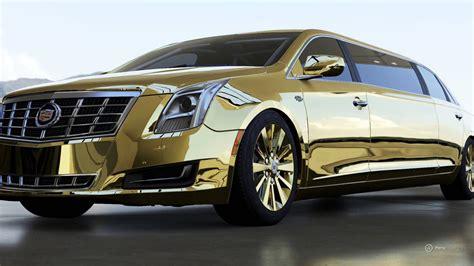 gold cadillac forza motorsport 6 gold 2013 cadillac xts limousine car