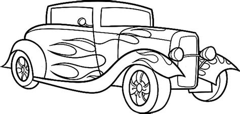coloring pages hot rod cars hot rod coloring pages az coloring pages