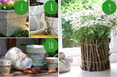 homemade flower pots ideas 10 diy flower pot painting ideas outdoor spaces pinterest