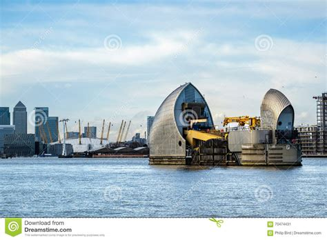 thames barrier number of times used london jan 10 view of the thames barrier in london on