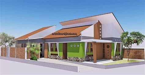 desain rumah hijau a desain rumah hijau dengan gaya jengki