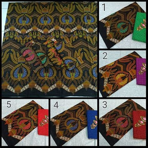 kain batik pekalongan motif batik jokowi kombinasi kain
