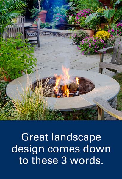 Landscape Architecture Words Great Landscape Design Comes To These Three Words