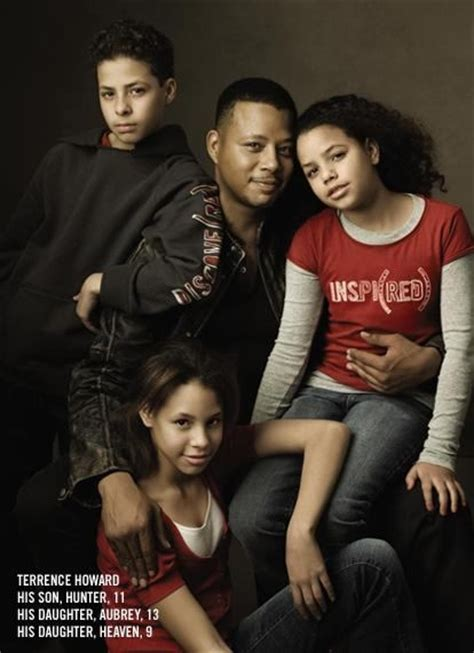 terrence howard twin photos pictures actor terrence howard s ex wife lori