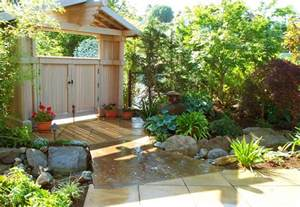 house garden designs asian style landscape northwest home style ideas