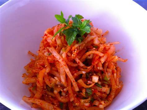 radish salad recipe spicy radish salad recipe korean food