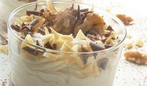 torta allo yogurt bicchieri ricetta bicchieri allo yogurt noci e cioccolato