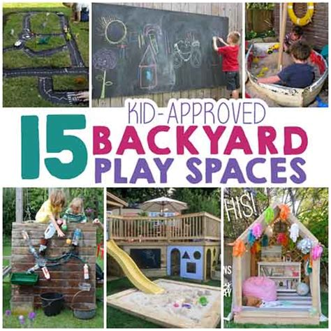 15 backyard play space ideas for lil moo creations