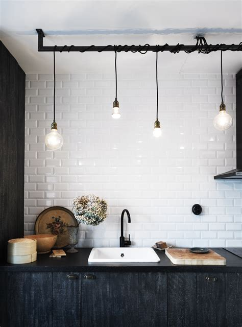 hanging lights for kitchen bar design idea a bright idea in kitchen lighting