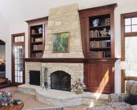 Fireplace Bookshelves Design How To Makeover Your Living Room With Modern Rustic