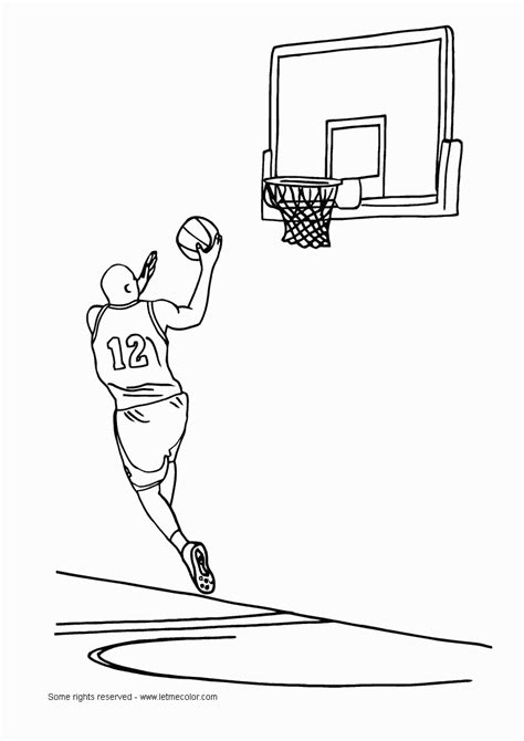 coloring pages basketball basketball coloring pages scrapbooking prints