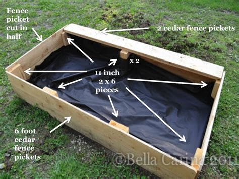 Building A Raised Garden by How To Build A Raised Garden Bed