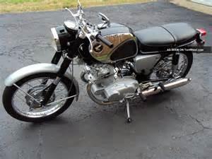Honda 305 Superhawk 1965 Honda Cb77 305 Superhawk