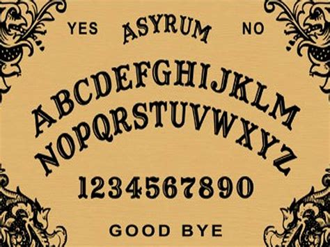 How To Make A Wigi Board Out Of Paper - how to make a ouija board out of paper 28 images how