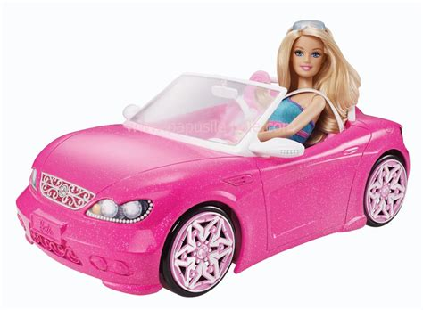 barbie convertible barbie doll with white fiat car images frompo