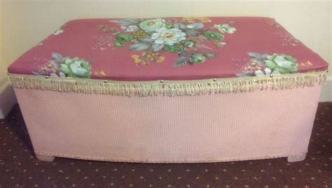the 61 best images about shabby chic lloyd loom on pinterest ottoman storage loom and tub chair