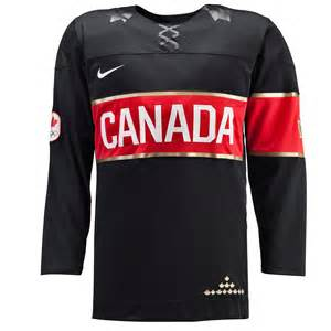 team canada official 2014 olympic replica black hockey jersey