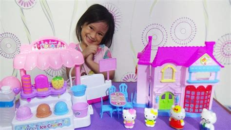 Mainan Anak Hello Machine mainan anak kasir kasiran hello dollhouse