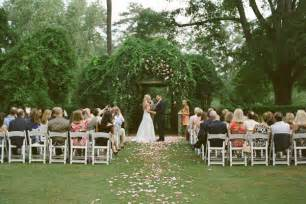 Garden Weddings Ideas Pretty Garden Wedding Once Wed