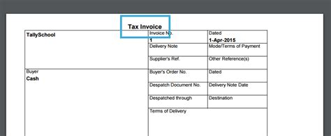 invoice design for tally download tally invoice template excel rabitah net