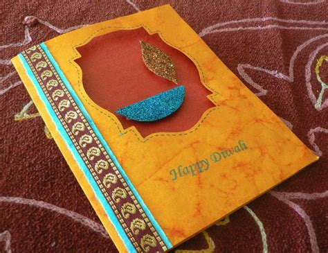 Handmade Crafts For Diwali - handmade easy diwali card designs for competition www