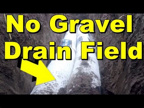 Field Designs Line For Payless by No Gravel Drain Field Diy For Washer Or Septic