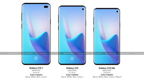samsung galaxy s10 series specs including battery display leaked ahead of launch technology