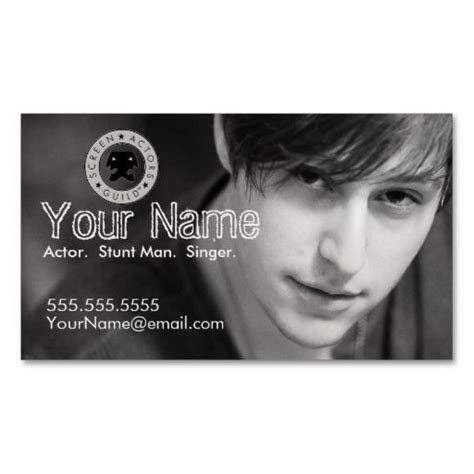 headshot business card template 298 best model business cards images on