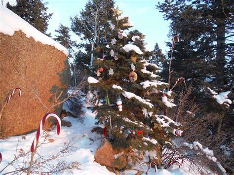 cold snowy and beautiful on the incline manitou incline