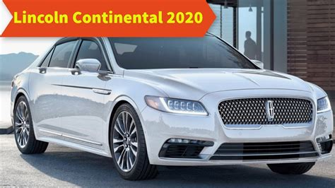 2020 lincoln continental 43 the best 2020 lincoln continental new concept
