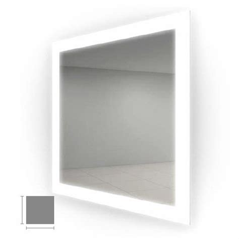 electric mirror bathroom electric mirror silhouette 30 quot x 30 quot lighted mirror