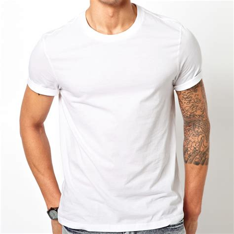 Tshirt Mens White Front blank white t shirt model www pixshark images galleries with a bite