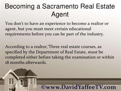 becoming a realtor becoming a sacramento real estate agent