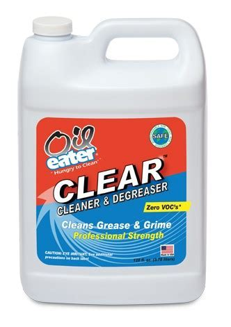 Oil Eater Clear Concentrated Cleaner and Degreaser   1