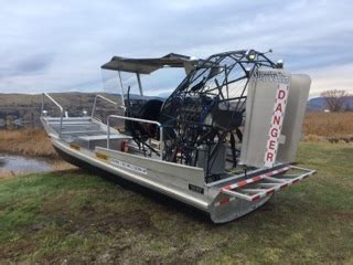 airboat construction 19 x 8 canadian airboat