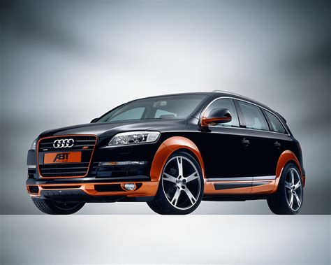 Auto Tuning Audi by Audi Q7 Abt Sport S Line Tuning Auto Titre
