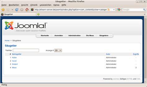 artikel layout joomla joomla debacher wiki