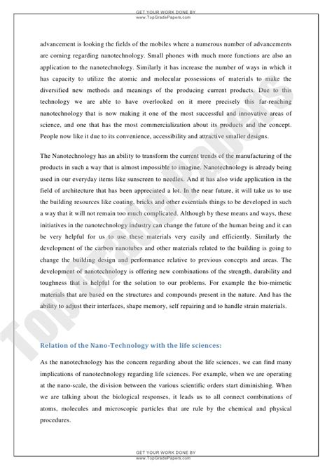 research paper on nanoparticles nanotechnology thesis 28 images nanotechnology essay