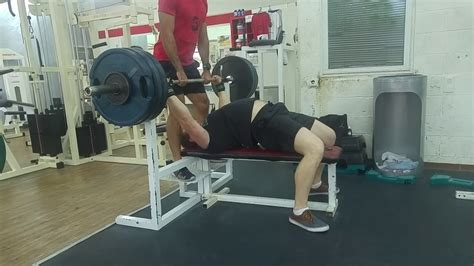 145 bench press bench press 145 kg שיא אישי youtube