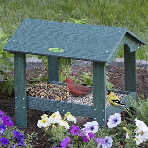 ground tray table bird feeders