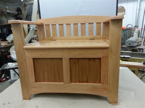 mud benches hand crafted cherry mud room bench by windy woods custom